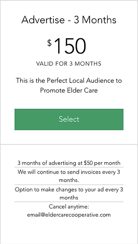 Advertise - 3 Months