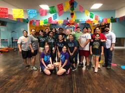 TLU Day of Service Volunteers