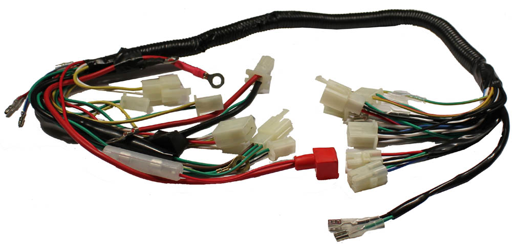 wire harness wire auto wiring diagram schematic motorcycle wire harness nilza net on wire harness