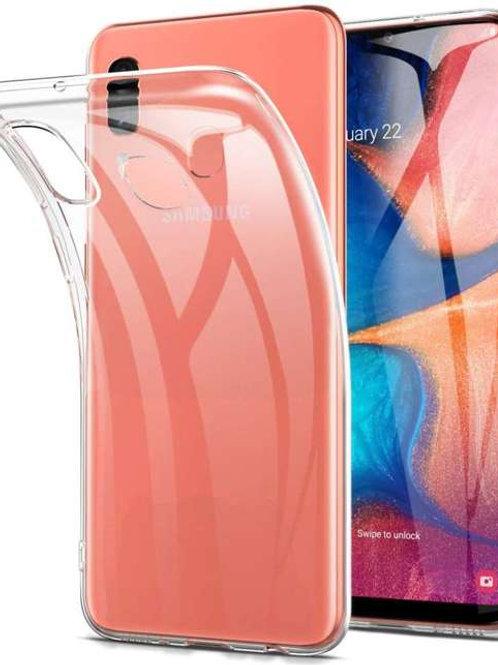 Galaxy A20e Siliconen TPU case doorzichtig
