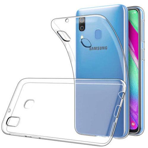 Galaxy A30 siliconen TPU case doorzichtig