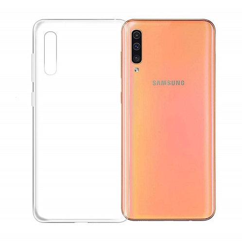 Galaxy A50 siliconenTPU case doorzichtig