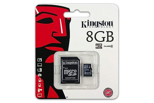 Kingston Micro SD kaart 8GB