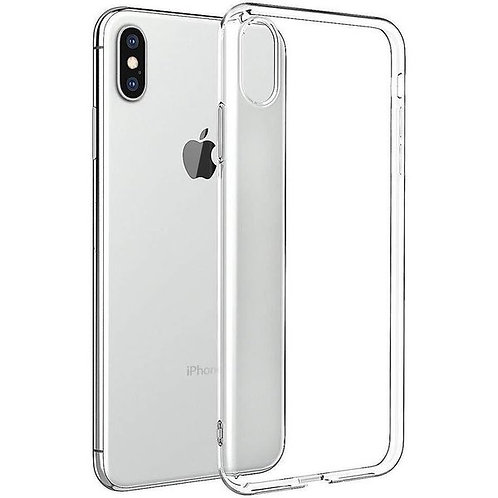 iPhone X/XS Siliconen TPU case doorzichtig