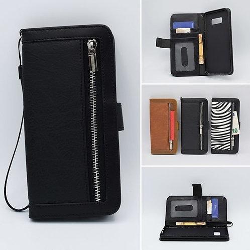 Samsung Galaxy S10 Bookcase met rits