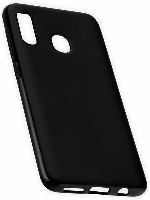Galaxy A30 siliconen TPU case zwart