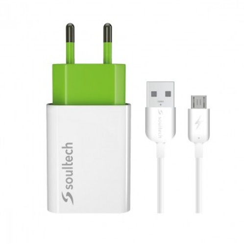 Soultech Micro-USB lader met adapter
