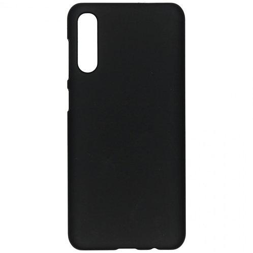 Galaxy A50 siliconen TPU case zwart