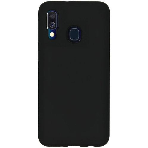 Galaxy A40 siliconen TPu case zwart
