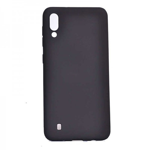 Galaxy A10 siliconen TPU case zwart