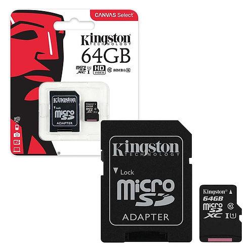 Kingston Micro SD kaart 64GB