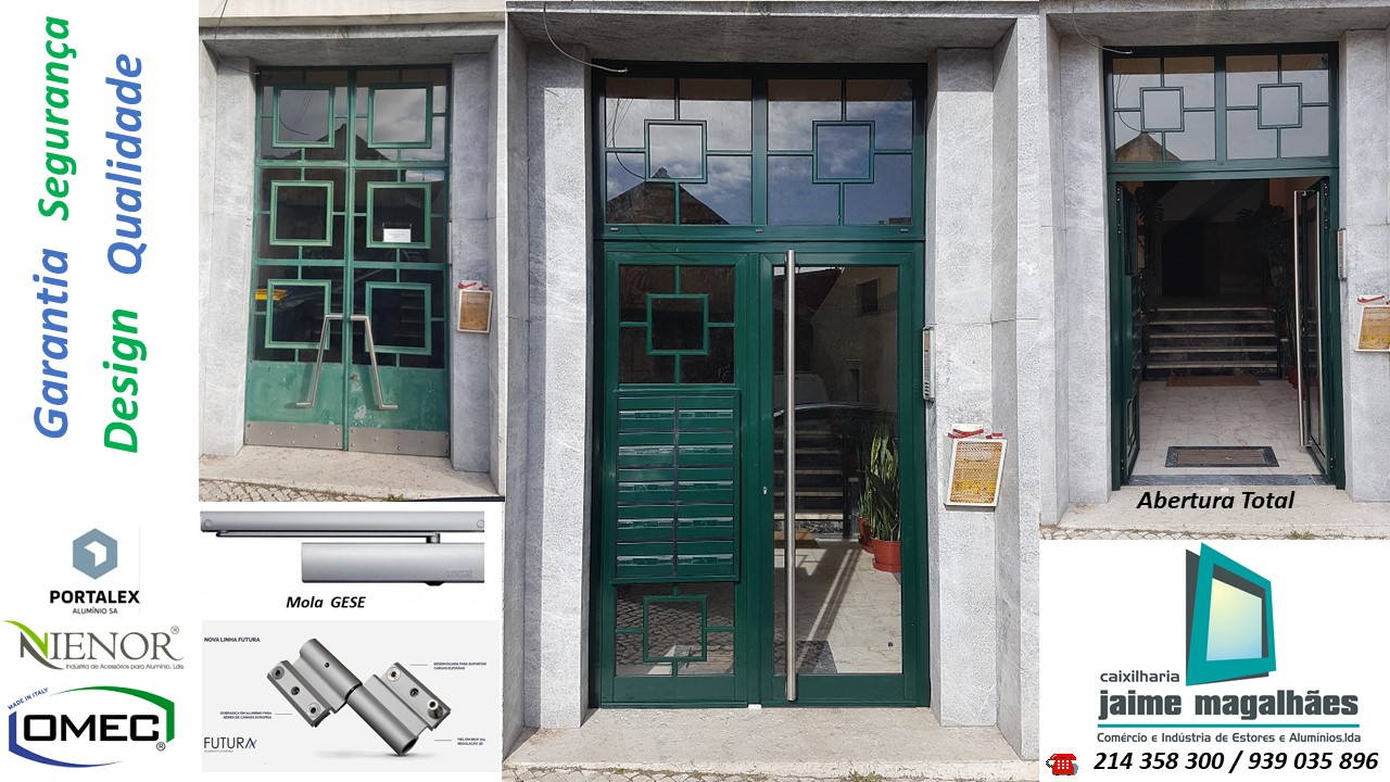 Porta_prédio_Benfica