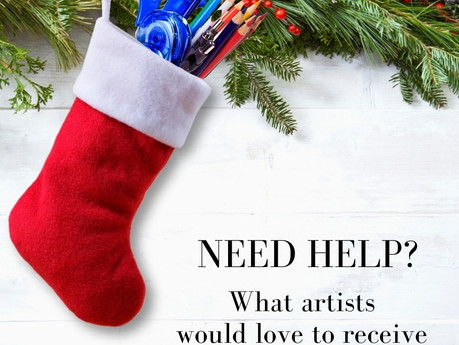 Stocking Stuffer Ideas for the Artist in Your Life