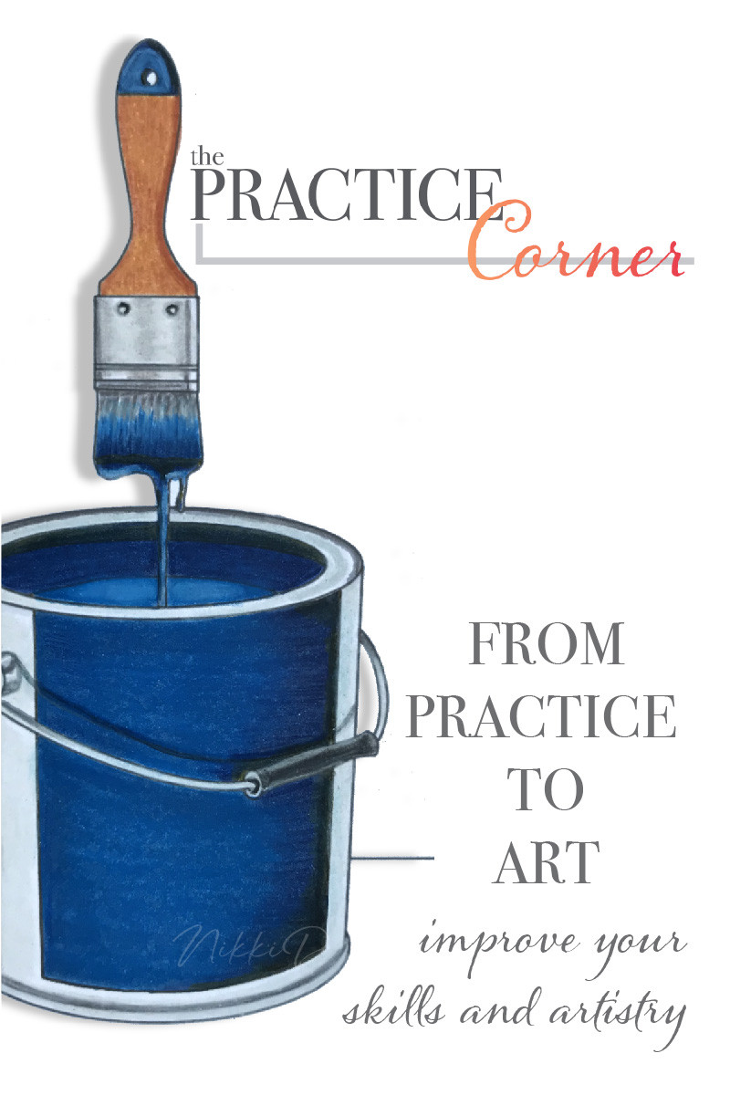 Creating deeper darker colors to create depth and dimension to your coloring. | How to improve your coloring | What to practice with Copic Markers | What to practice with colored pencils | #coloredpencilpractice #copicmarkerpractice  #thepracticecorner #realisticcoloring #coloringtechniques