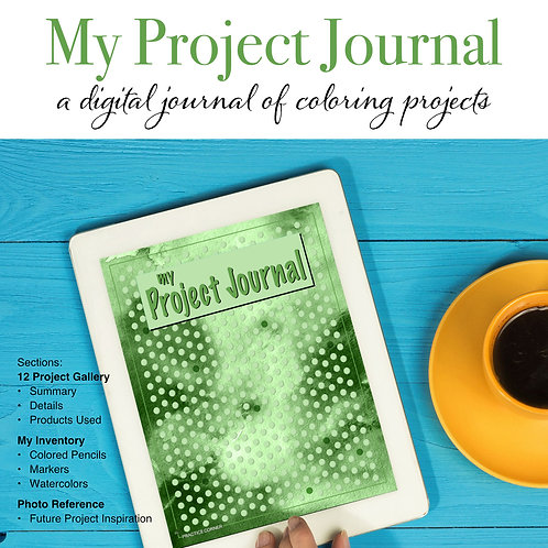 My Project Journal - Green (Digital)