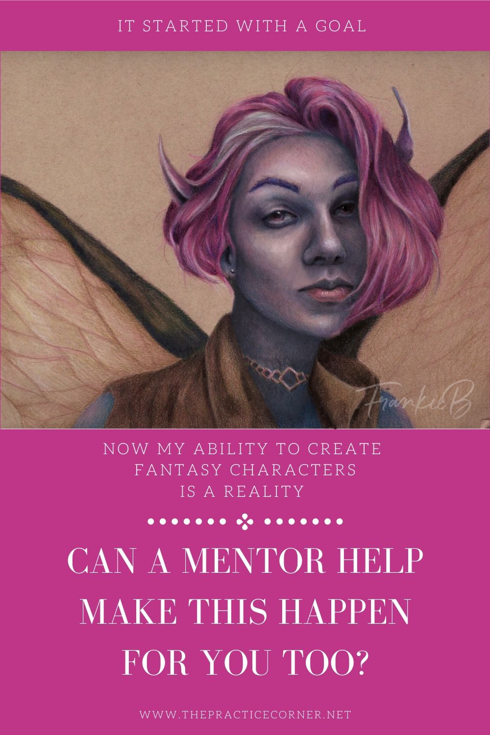 A mentor can help guide you through your art goals. They can help shape your practice and your projects.  How to improve your coloring | What to practice to improve my coloring #coloredpencil #coloredpencilpractice #copicmarker #copicmarkerpractice