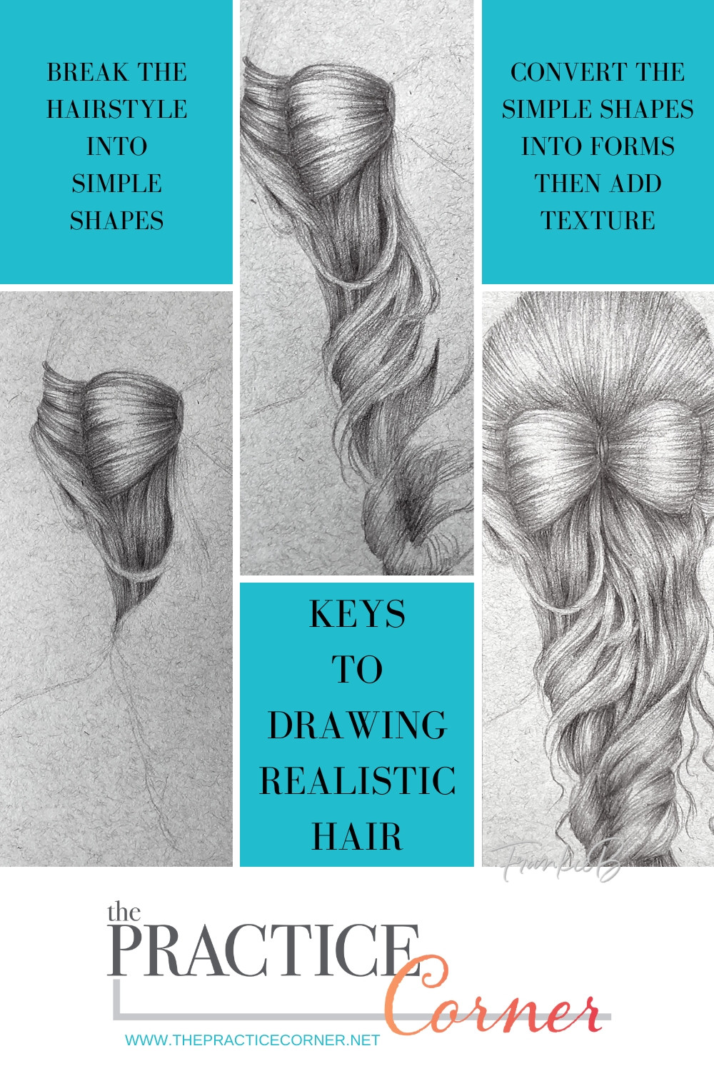 Keys to drawing or coloring hair with realism. | How to improve your coloring | How to draw realistic hair | How to color realistic hair | #coloredpencilpractice  #thepracticecorner #realisticcoloring #coloringtechniques