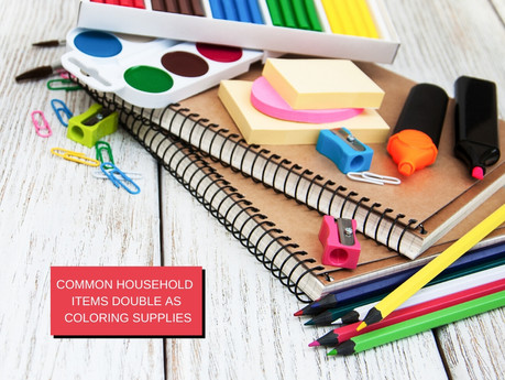These common household items double as useful coloring supplies!