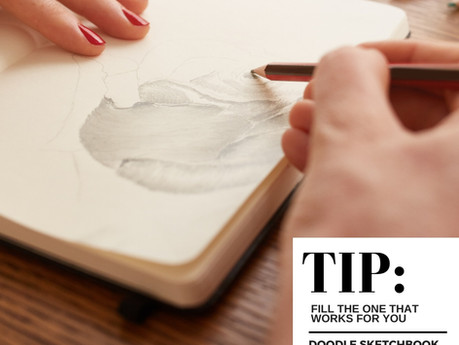 3 Ways to Fill A Sketchbook