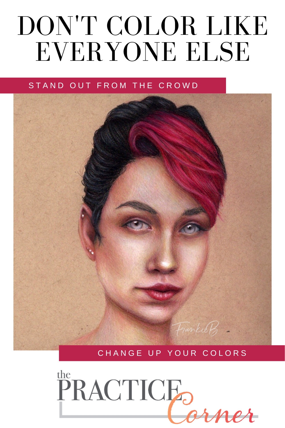 Make your coloring stand out from the crowd   Change the colors used in a project   #coloredpencil #coloredpencilpractice #thepracticecorner #realisticcoloring #coloringtips