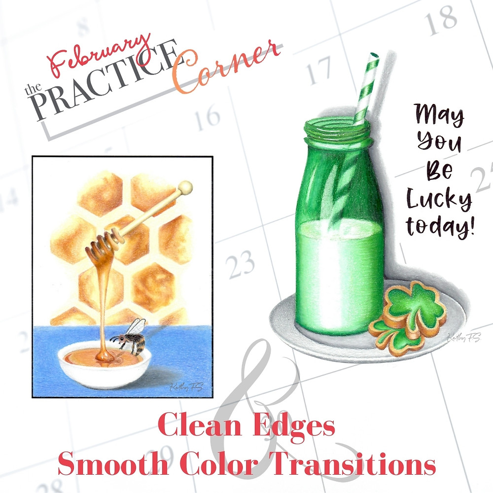 Learn how smooth color transitions help create realism in your coloring projects. | The Practice Corner | #realisticcoloring #coloringtechniques #copicmarkerpractice #coloredpencilpractice