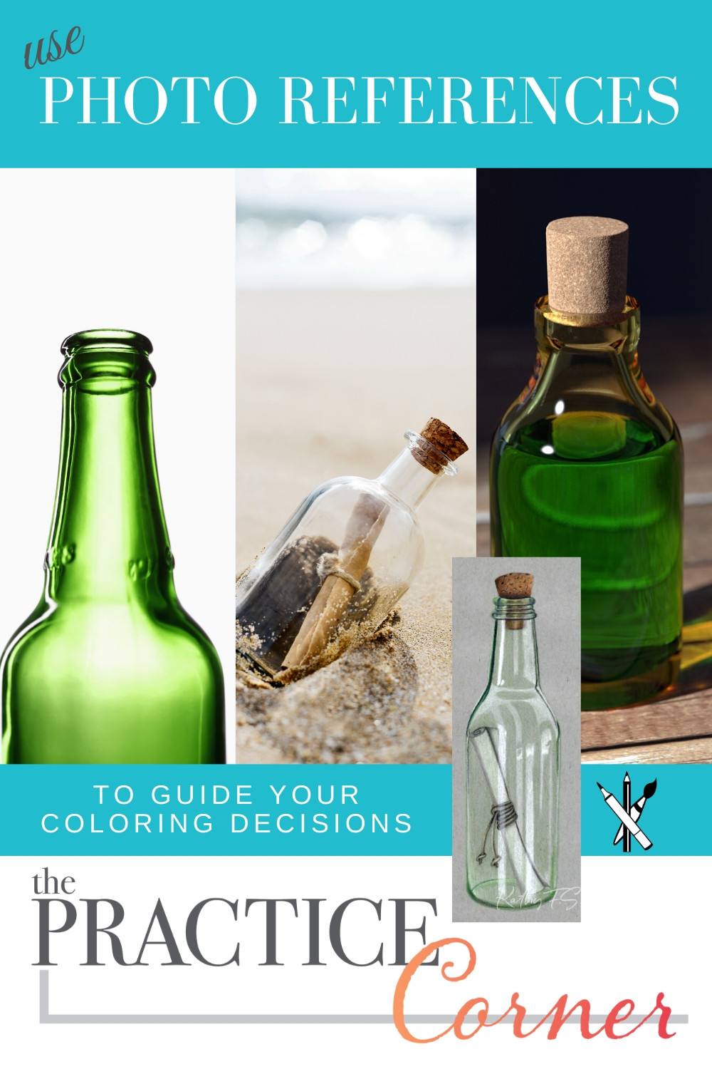 How to improve your coloring | How to color realistic glass | #coloredpencilpractice  #thepracticecorner #realisticcoloring #coloringtechniques #coloringtips