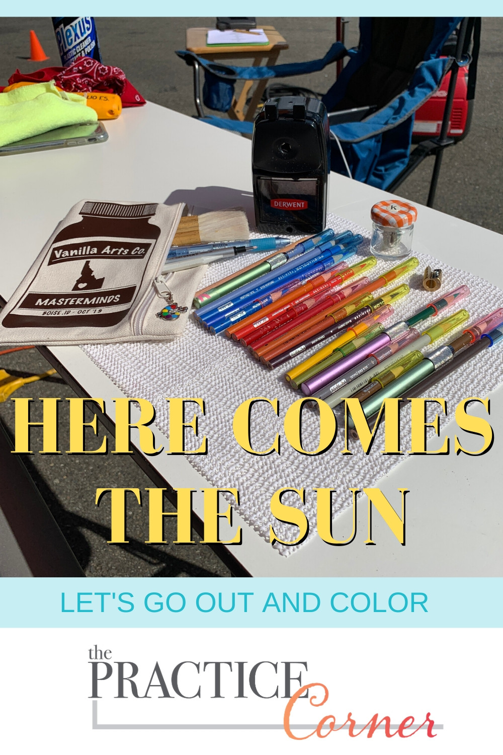 Coloring Outdoors | Prepare for summer vacation coloring | Coloring Supplies for Colorers | #thepracticecorner #coloringsupplies #coloringtips