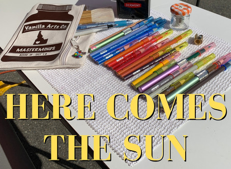 Summer's Here . . . Do You Color Outdoors?