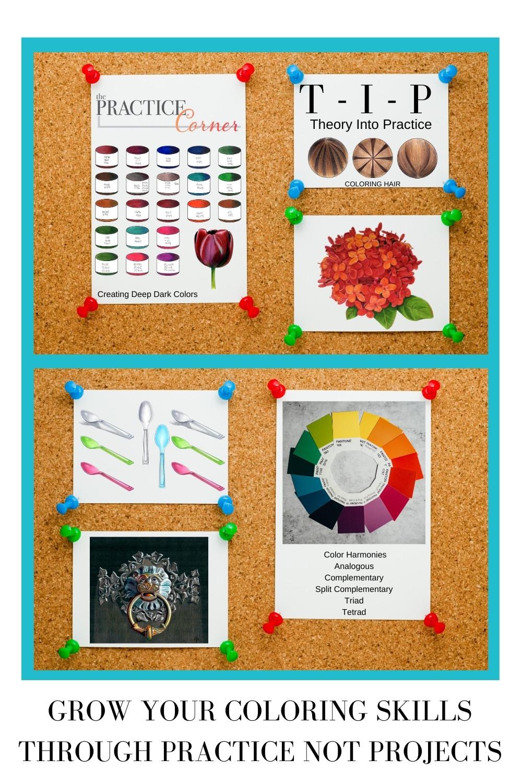 Grow your coloring skills through practice. | The Practice Corner | How to improve your coloring | #coloringconfidence #coloredpencilpractice #copicmarkerpractice #coloringtechniques