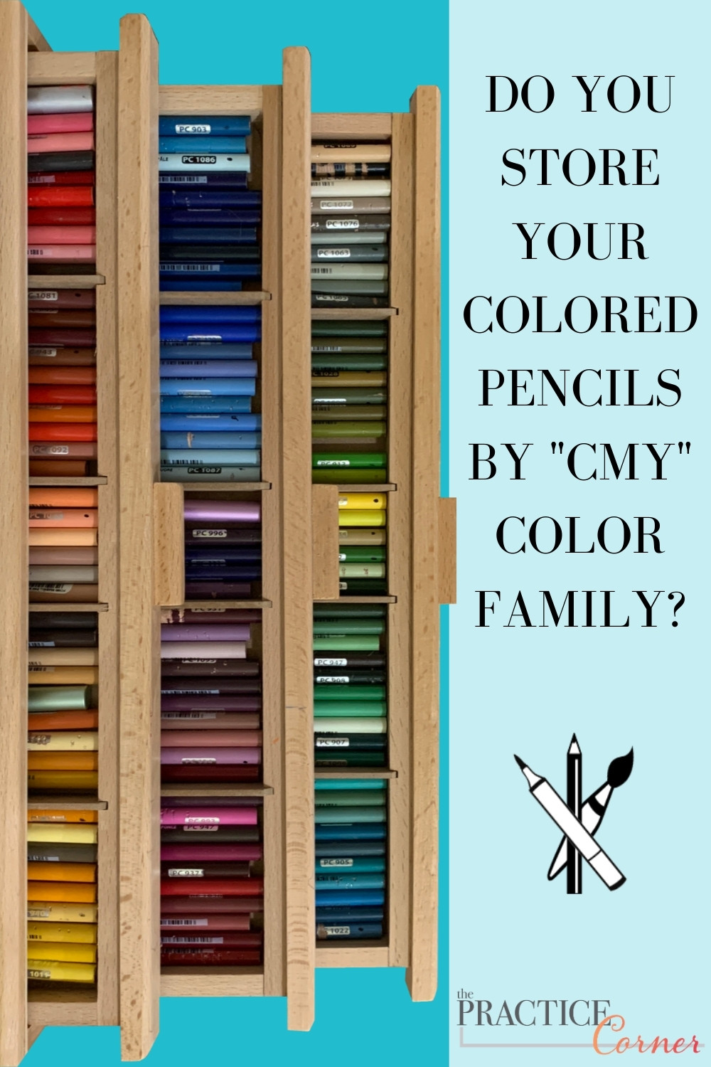 Recognize what color category a color comes leads to better color selection | How to improve your coloring | #thepracticecorner #realisticcoloring #color #colorselection #coloredpencilstorage