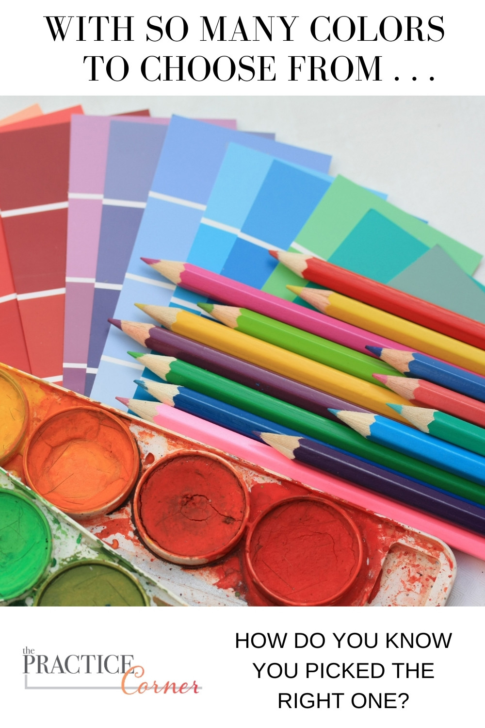 Identifying the origins of your colored pencils lead to better color selections.  | The Practice Corner | #coloredpencilpractice #coloringtechniques
