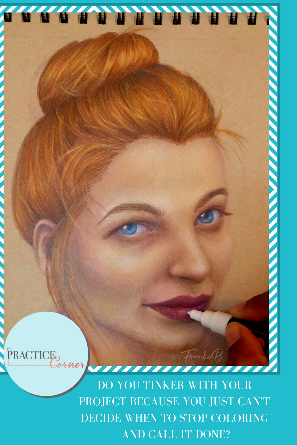 How to determine when to stop coloring | Tips to know when your coloring project is complete | #coloredpencil #coloredpencilpractice #copicmarker #copicmarkerpractice  #thepracticecorner #realisticcoloring