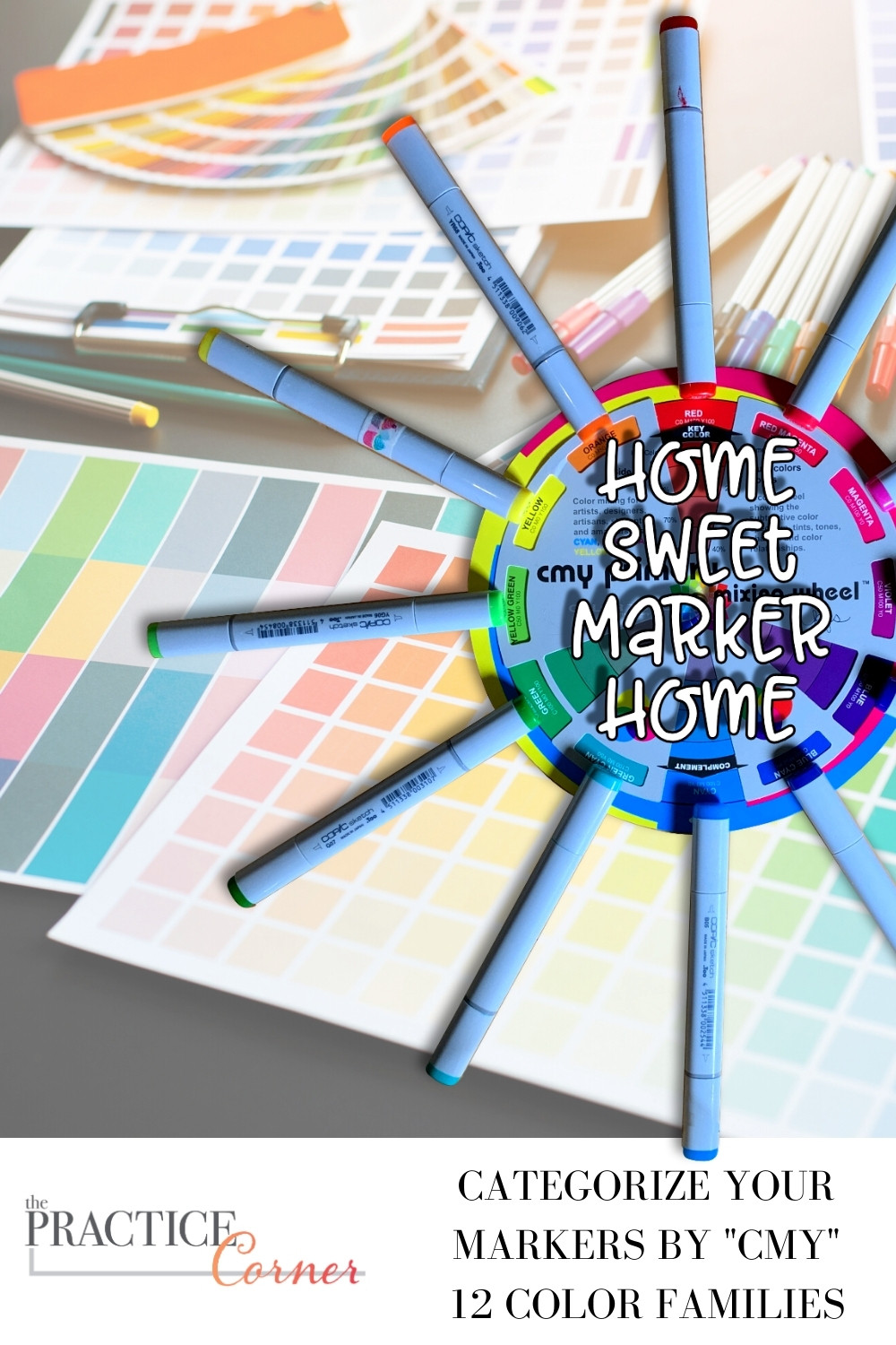 Recognize what color category a color comes leads to better color selection | How to improve your coloring | #thepracticecorner #realisticcoloring #color #colorselection
