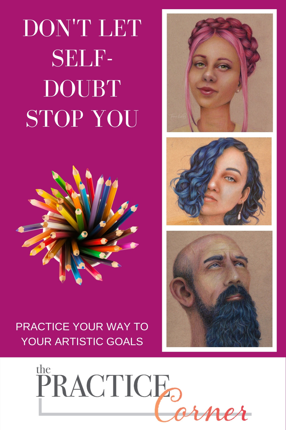 Don't Let Self Doubt Stop You | How to improve your coloring | What to practice with Copic Markers | What to practice with colored pencils | what to practice to improve my coloring | #coloredpencil #coloredpencilpractice #copicmarker #copicmarkerpractice  #copiccoloring #coloredpencilcoloring #thepracticecorner