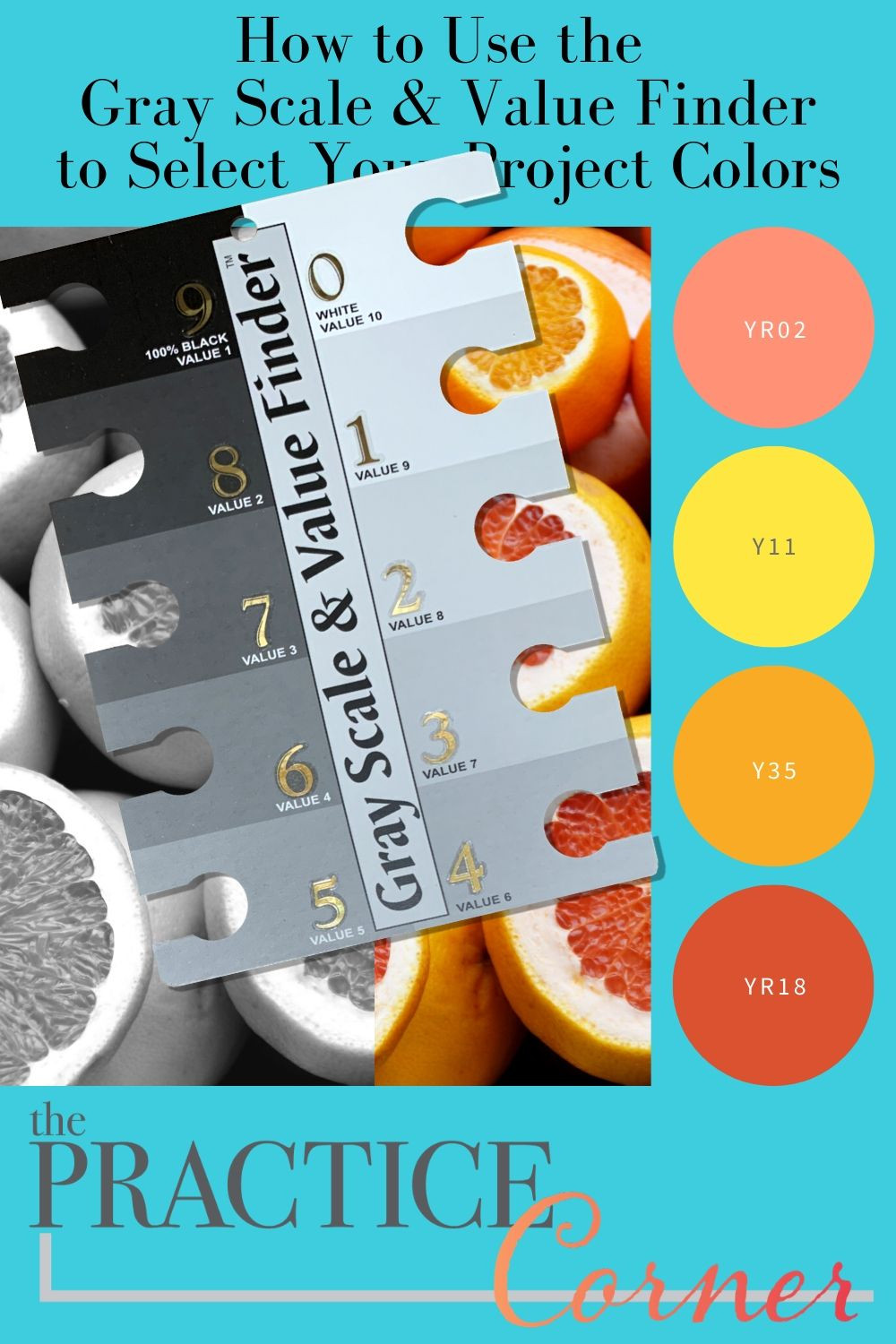 How to use the Gray Scale & Value Finder to select Copic markers, colored pencils or watercolors for your realistic art projects.  #coloredpencil #coloredpencilpractice #copicmarker #copicmarkerpractice  #copiccoloring #coloredpencilcoloring