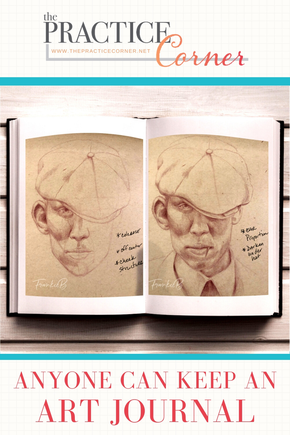 Art Journals are an important tool to assess your coloring progress. | How to improve your coloring | #coloredpencil #coloredpencilpractice  #thepracticecorner #realisticart #coloringtechniques #coloredpencilart
