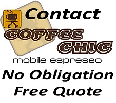 Mobile Coffe Cart Hire New Zealand - Contact Coffee Chic