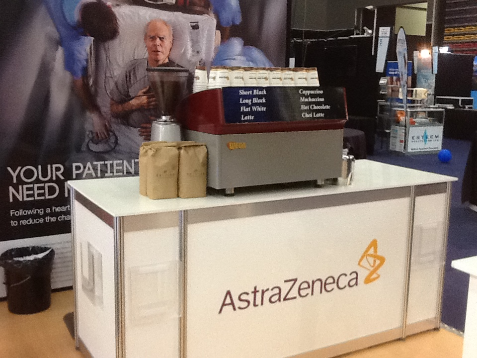 AstraZeneca coffee at GPCME
