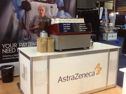 AstraZeneca coffee at GPCME