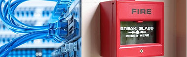 Structured Data Cabling , Fire Alarms,  Cat5, Cat6, Data, Call Points. Alarms