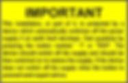 RCD Test Label