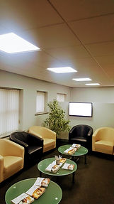 Office Reception Factory Lighting Completely passionate about lighting and lighting design. RELUX DIALUX.