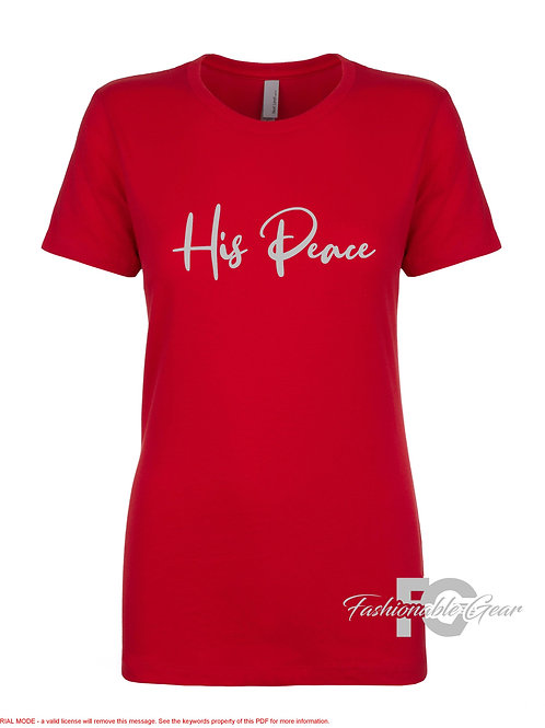 HIS PEACE (Couples Tee)