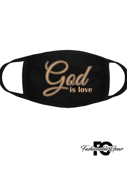 GOD IS LOVE MASK