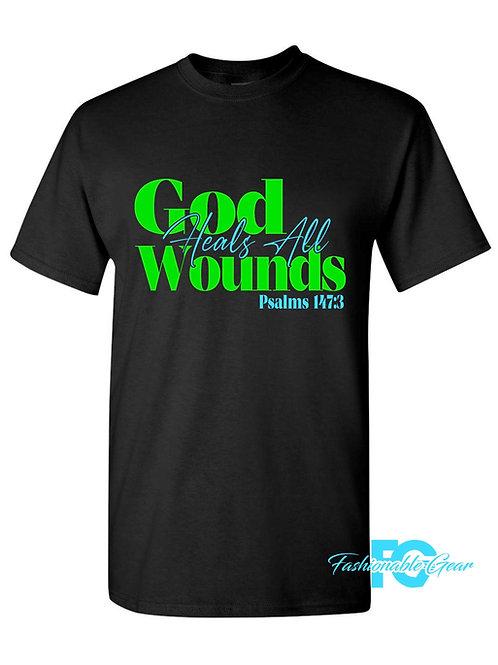GOD HEALS ALL WOUNDS