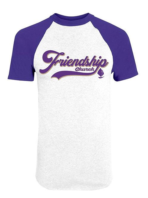 FRIENDSHIP CHURCH BASEBALL TEE