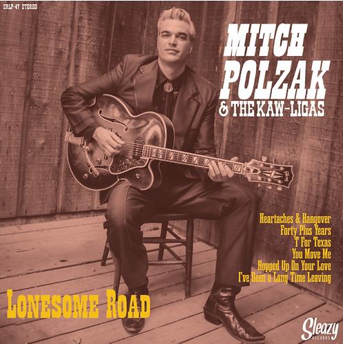 LONESOME ROAD - Mitch Polzak & The Kaw-Ligas (Spain) [10-Inch VINYL]