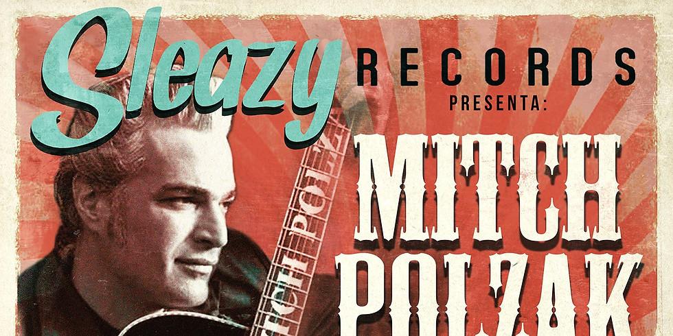 Mitch Polzak & The Kaw-Ligas @ Stak-A-Records Sala Underground, Barcelona, Spain