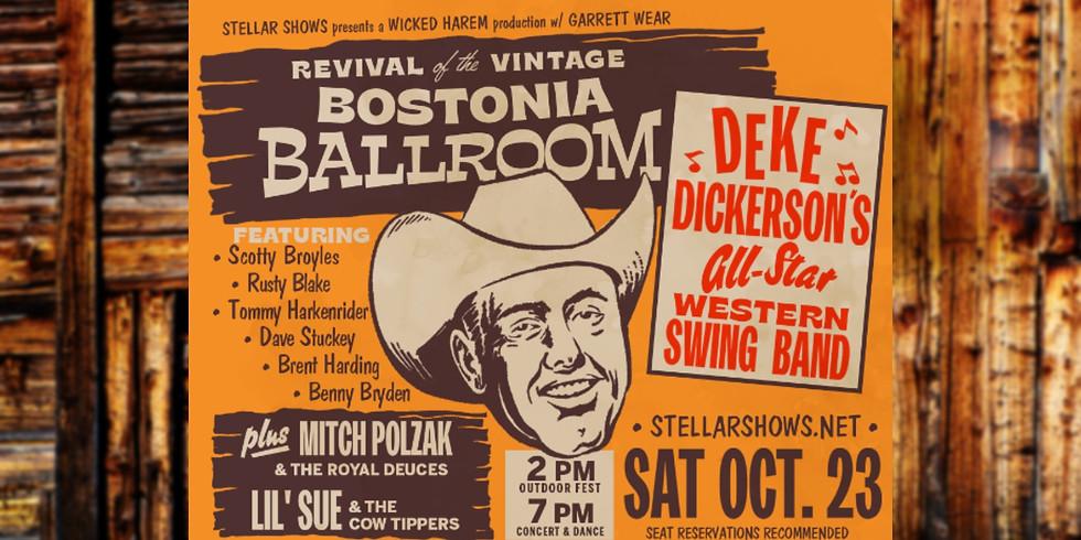 Mitch Polzak & The Royal Deuces at The Bostonia Ballroom Revival With Deke Dickerson! El Cajon, CA