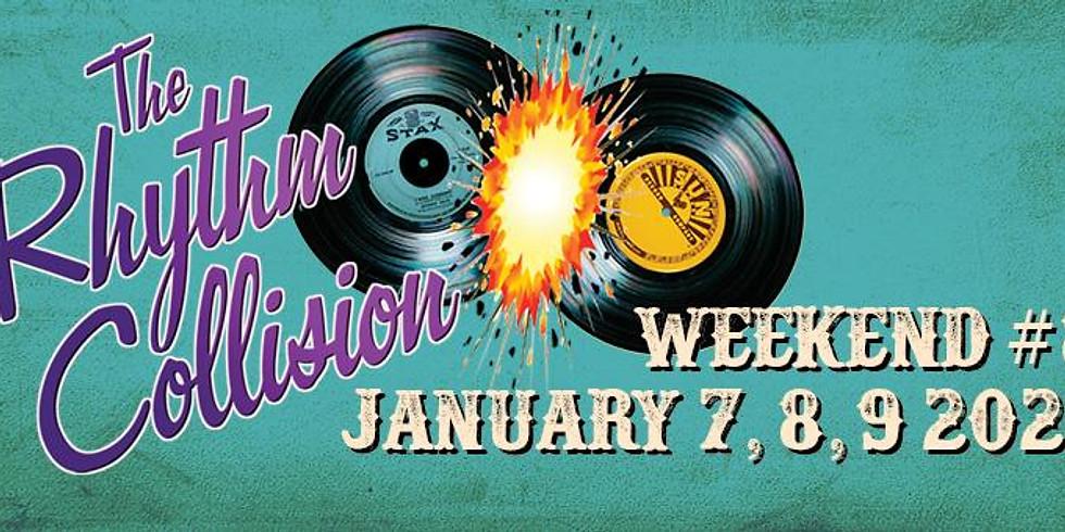 Rhythm Collision!  Sunday Pool Party!